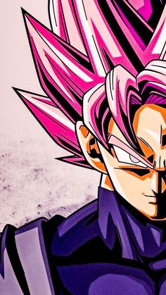 Perfect Goku Black art S uper Saiyan Rose Dragon Ball Gt, Photo Dragon, Black Goku, Z Wallpaper, Dragon Super, Animes Wallpapers, Anime Naruto, Android 18, Black Art