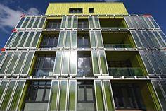 A Hambourg, une maison en algues vivantes