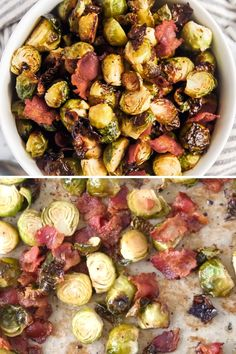 Thanksgiving Vegetables, Best Thanksgiving Side Dishes, Thanksgiving Recipes, Thanksgiving Brussel Sprouts, Thanksgiving 2020, Sprout Recipes, Vegetable Side Dishes, Brussels Sprouts, Bacon Brussel Sprouts Oven