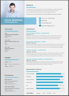 Formato De Resume Rafael Reyes Rapha_Rar On Pinterest