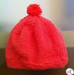 cappellino maglia neonato
