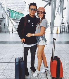 Jess and Gabe Conte | airport
