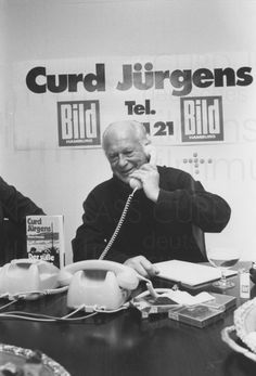 PR-Foto, Telefon BILD-Zeitung 1980, 6