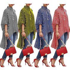 New Women Fashion Half Sleeve Print Loose Chiffon Long Cardigan Top RR3