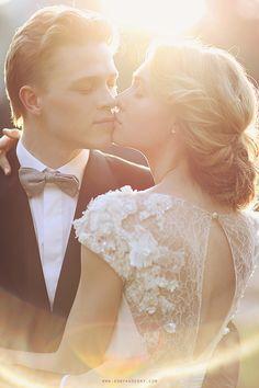 Glam and Romantic Bridal Portraits | Sonya Khegay Photography | See More:  http://heyweddinglady.com/liquid-gold-need-magic-hour-portraits-wedding/