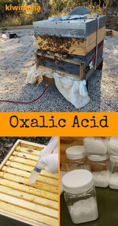 """Oxalic Acid is used in many ways, in the fight against the """"Varroa Destructor Mite"""" - which feeds on Bees. Oxalic Acid is considered an organic varroa treatment."""