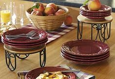 Elevate serving dishes and dinnerware to freshen up the look of your tabletop at a party!