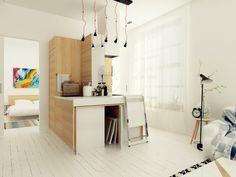 Astuce d'aménagement dans un petit appartement