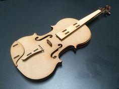 DXF Plans Downloads - Violin