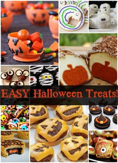 More Great Halloween Treats! (and easy, of course!)