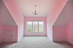 """This secondary bedroom has """"little princess"""" written all over it!"""
