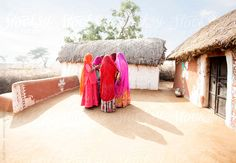 Typical village in Rajasthan. India by Hugh Sitton - Stocksy United Water Issues, Incredible India, Sri Lanka, Nepal, Pakistan, Outdoor Blanket, Asia, The Incredibles, The Unit