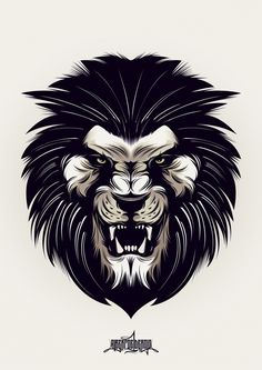 Tattoo Lion Angry Animals Ideas For 2019 Tattoo L, Lion Tattoo, Lion Vector, Vector Art, Logo Lion, Animal Drawings, Art Drawings, Angry Animals, Dragons