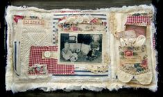 Would love to do a junk journal like this using all my collected fabric scraps.