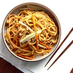 This Sesame Noodles Recipe is great for the lunch box or quick weeknight meal.  A great make-ahead!