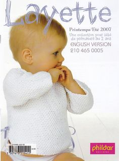 Phildar Layette, Spring A Collection of Knitting Patterns for Premature to 2 Years Old, 35 Baby Clothing Patterns, English Version by OnceUponAnHeirloom on Etsy Baby Clothes Patterns, Baby Knitting Patterns, Baby Patterns, Clothing Patterns, Layette Pattern, Cardigan Bebe, Knitted Baby Clothes, Shawl Patterns, Knitting Accessories