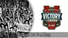 August 14 V-J Day