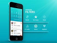 Afbeeldingsresultaat voor filter options app design