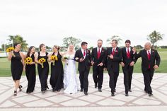 Group wedding party shot. #PGAwedding party! Brian + Aileen Photo By Thompson Photography Group