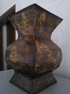 Resultado de imagen para molde de jarrones de carton