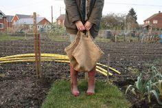 hessian harvest bags to make