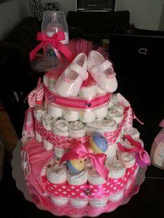 Jimena diaper cake