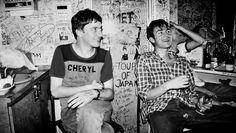 Damon Albarn & Graham Coxon   blur