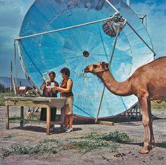 3 мая отмечается Всемирный день Солнца   Cолнечный коллектор в Каракумах, 1970-е годы. Фото Игоря Константинова.  Подробнее см.: http://www.nkj.ru/archive/articles/23472/ (Наука и жизнь, Укрощение Солнца)