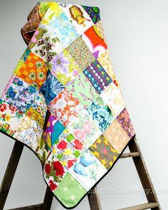Patchwork Quilt - Vintage 49
