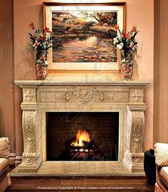 Marble Fireplace MFP-1349