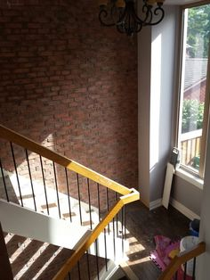 Century Red Brick. Historic recreation in a Caledon home.