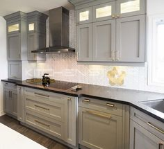 Custom Built Grey Kitchen By Kitchen Star Cabinets This Is Our New Designed  And Made Custom
