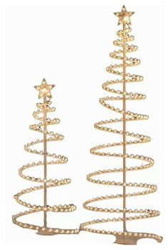 Unique Contemporary Christmas Decorations christmas outdoor decorations - lighted spiral tree stakes. use