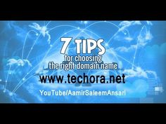 7 Essential Tips For Choosing a Right Domain Name in Urdu and Hindi