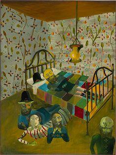Sidney Nolan Ned Kelly Series - The defence of Aaron Sherritt 1946 Australian Painting, Australian Artists, Sidney Nolan, Ned Kelly, 12 November, Z Arts, Fantastic Art, Famous Artists, The Guardian