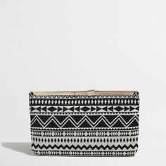 J.Crew+Factory+-+Factory+geo+shapes+frame+clutch