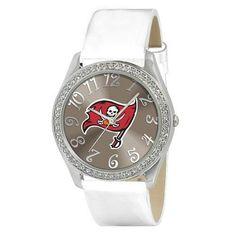 "Tampa Bay Buccaneers NFL Ladies Glitz Series"" Watch"""