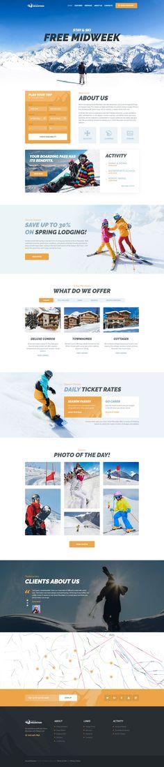 Snow Mountain   Ski Resort & Snowboard School #wordpress #sport #theme - https://themeforest.net/item/snow-mountain-ski-resort-snowboard-school/20631645?ref=rabosch