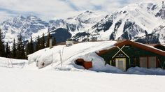 """<a href=""""https://www.aspensnowmass.com/our-mountains/aspen-highlands/dining/cloud-nine-alpine-bistro"""" target=""""_blank"""">Cloud Nine Alpine Bistro</a> offers fine, alpine-style dining -- and a renowned apres-ski atmosphere -- in a wooden former ski patrol cabin on the slopes of Aspen, Colorado. It's so popular that a refurbishment and extension is being carried out."""
