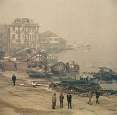 Yağkapanı F: Eminönü - Prof. Old Pictures, Old Photos, Vintage Photos, Old Photography, Amazing Photography, Bulgaria, City Landscape, Historical Pictures, Istanbul Turkey