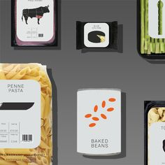 Food Packaging Concept on Behance