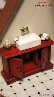 how to: bathroom sink and vanity