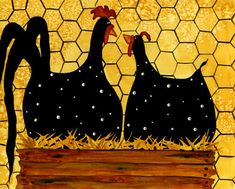 Debi Hubbs Whimsical Chicken Art The McCackles PR115