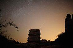Perseid meteor shower (August 2010)
