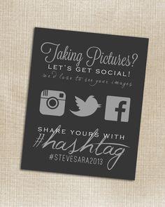 Social media hash ta