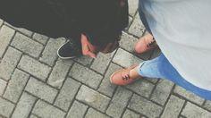 Hold my hand.