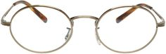 Oliver Peoples Gold Empire Suite Glasses