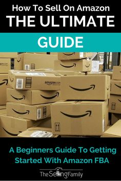 Want to start selling on Amazon FBA? This guide is a great place to start. Everything you need to know about the ins / outs of this business!