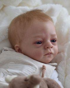 Scrumptious Babies Reborn Baby Boy 'Toby' from Ltd Ed Romeo Kit by Natali Blick
