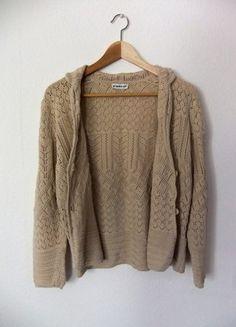 Kaufe meinen Artikel bei #Kleiderkreisel http://www.kleiderkreisel.de/damenmode/cardigans/141474852-kuschelige-strickjacke-in-beige-s-l